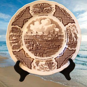 Alfred Meakin Fair Winds Salad Plate Historical